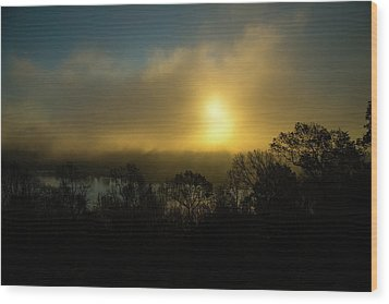 Wood Print featuring the photograph Morning Arrives by Karol Livote