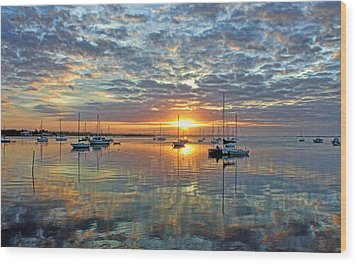 Morning Bliss Wood Print by HH Photography of Florida