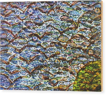 Morning Flight Wood Print by TB Schenck
