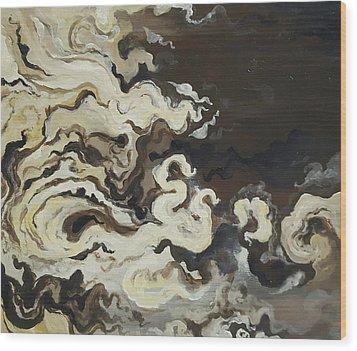 Morning Flow Wood Print