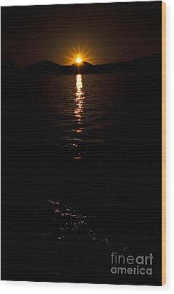 Morning Has Broken Wood Print by Tamyra Ayles