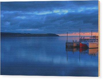 Morning In Cape Breton Wood Print by Joe  Ng