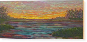 Southern Sunrise Wood Print