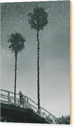 Wood Print featuring the photograph Morning by Kevin Bergen
