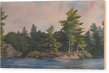 Morning Light  Wood Print by Debbie Homewood