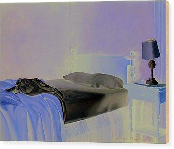 Morning Light Wood Print by Linda Tenukas