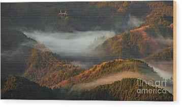 Wood Print featuring the photograph Morning Light by Tatsuya Atarashi