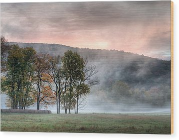 Morning Serenity Wood Print by James Barber