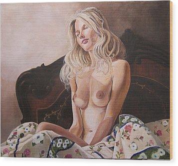 Morning Sun Wood Print by Kenneth Kelsoe