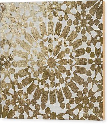Moroccan Gold II Wood Print