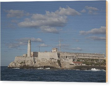 Morro Castle Havana Cuba Was Built Wood Print by Everett