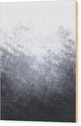 Mosaic Ombre Wood Print