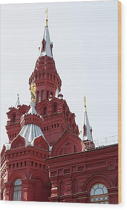 Moscow04 Wood Print by Svetlana Sewell