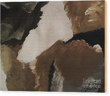 Mother Earth Ll Wood Print by Marsha Heiken