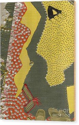 Mother Of Pearls Wood Print by Angela L Walker