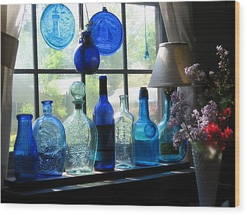 Mother's Day Window Wood Print by John Scates