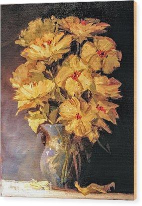 Mother's Favorite Vase Wood Print