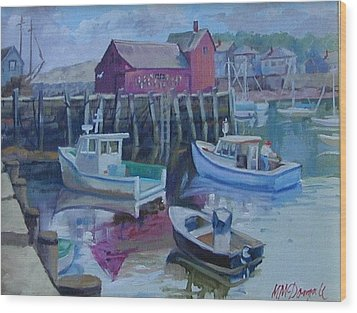 Motif Number One Wood Print by Michael McDougall