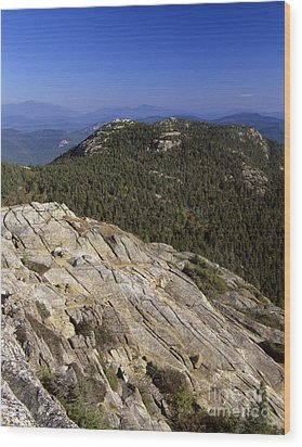 Mount Chocorua - White Mountains New Hampshire Usa Wood Print by Erin Paul Donovan