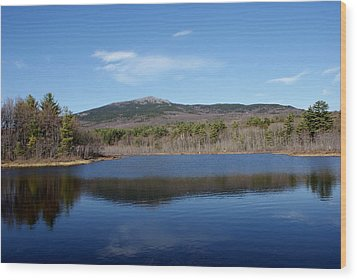 Mount Monadnock Wood Print by Lois Lepisto