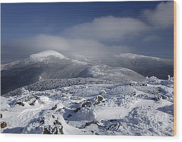Mount Washington - New Hampshire Usa Wood Print by Erin Paul Donovan