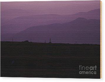 Mount Washington New Hampshire - Auto Road Wood Print by Erin Paul Donovan