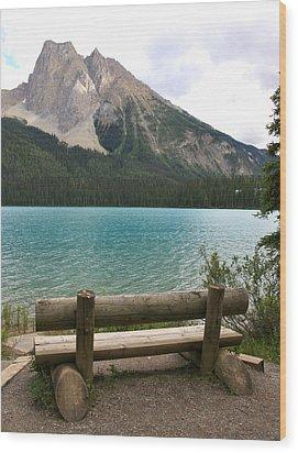 Mountain Calm Wood Print