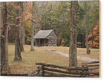 Mountain Memories Wood Print by TnBackroadsPhotos