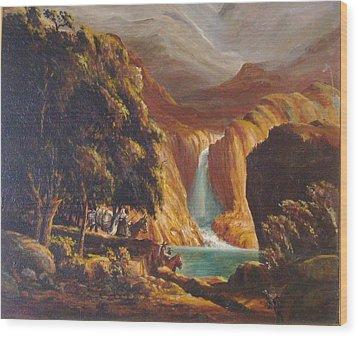 Mountain Men Wood Print