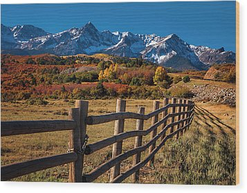 Wood Print featuring the photograph Mountain Pastures by Andrew Soundarajan