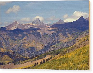 Mountain Splendor 2 Wood Print by Marty Koch