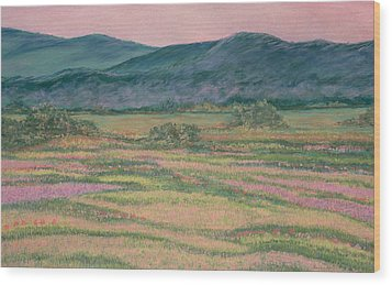 Mountain Springtime Wood Print