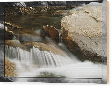 Mountain Stream B Wood Print