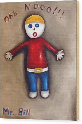 Mr. Bill Wood Print by Leah Saulnier The Painting Maniac
