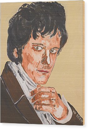 Mr. Darcy Wood Print