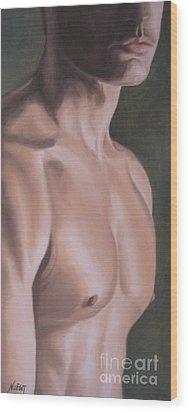 Mr. Dreamy Wood Print by Jindra Noewi