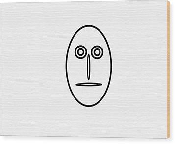 Mr Mf Is A Greenhorn Wood Print