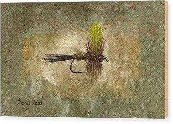 Mr. Rapidan Wood Print