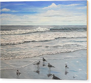 Mrytle Beach Wood Print by Mike Ivey
