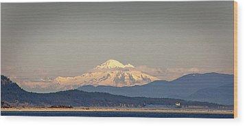 Mt Baker  Wood Print by Klaus Bohn