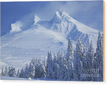 Mt. Hood Wood Print
