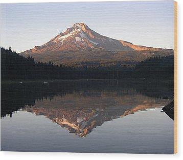 Mt Hood Wood Print by Eric Workman