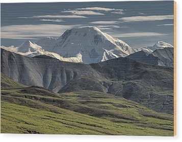 Wood Print featuring the photograph Mt. Mather by Gary Lengyel
