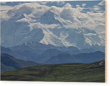 Wood Print featuring the photograph Denali by Gary Lengyel
