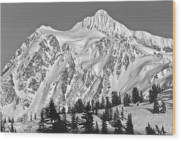Mt Shuksan Wood Print