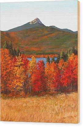 Mt.chocorua Wood Print by Jack Skinner