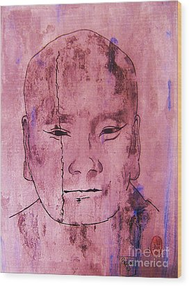 Wood Print featuring the painting Muchaku Of Kamakura by Roberto Prusso