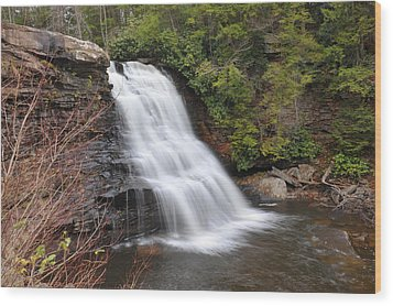 Wood Print featuring the photograph Muddy Creek Falls by Dung Ma