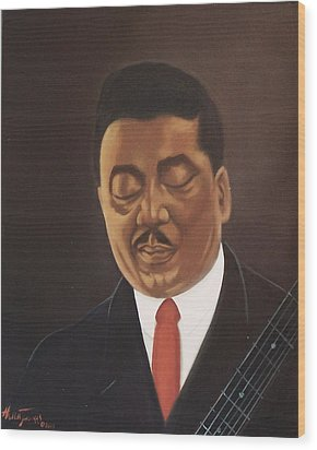 Muddy Waters  Wood Print by Helen Thomas