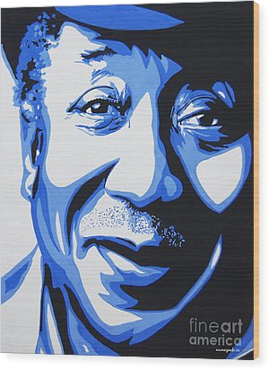 Muddy Waters Wood Print